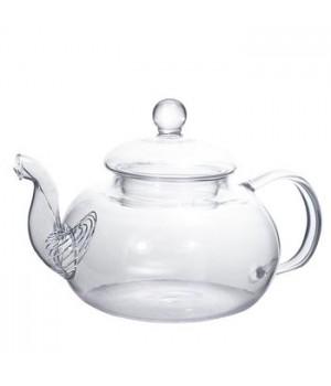 """Чайник стеклянный """"Смородина"""" 600 мл без заварочной колбы"""