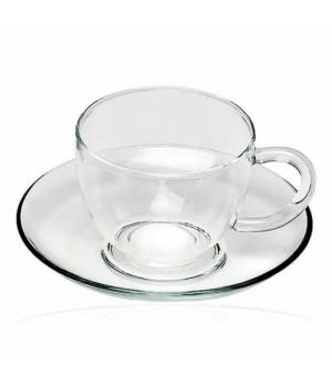 """Чашка с блюдцем """"Каролина"""" 150 мл"""