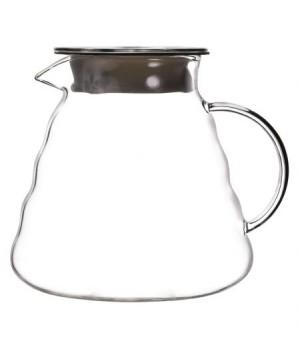 """Чайник стеклянный """"Идзуми"""" 800 мл с силиконовой прокладкой"""