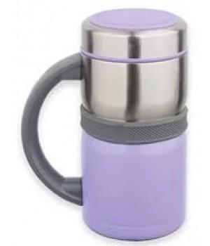Термокружка Kamille 500мл из нержавеющей стали (фиолетовая)